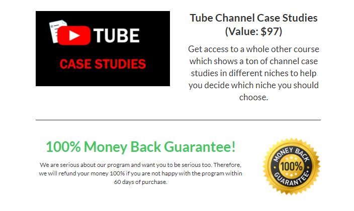 tube mastery money back guarantee