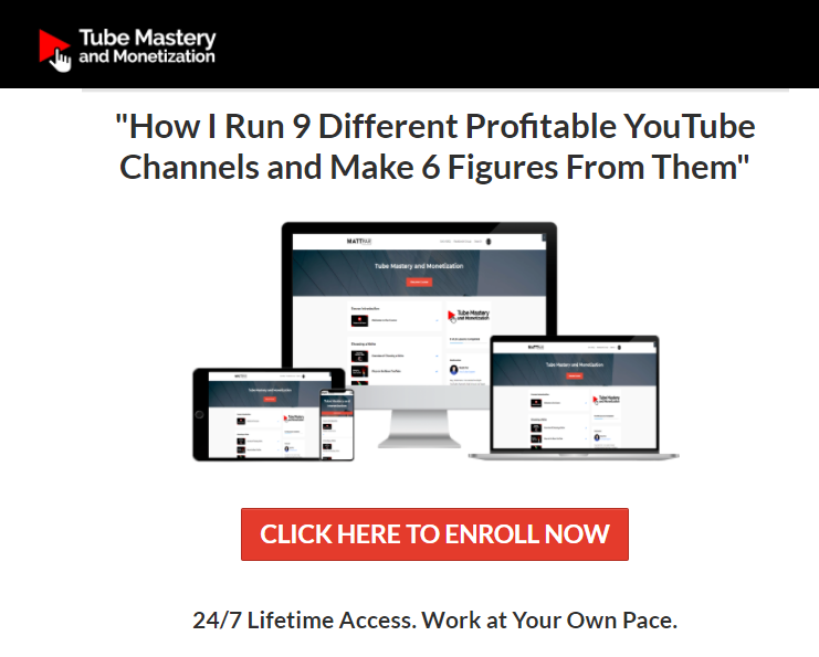 youtube mastery and monetization course